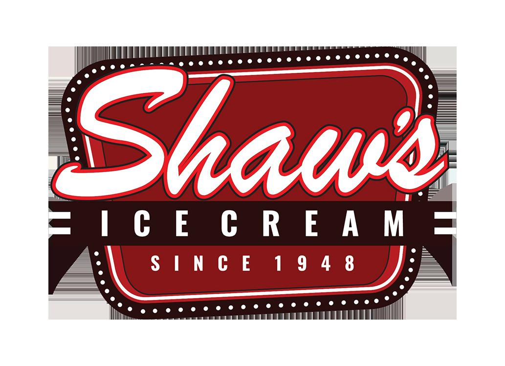 Shaws ice cream logo